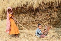 Niños rurales fotos de archivo libres de regalías
