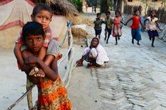 Niños rurales imagen de archivo libre de regalías