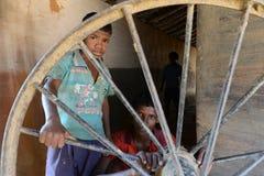 Niños rurales fotografía de archivo libre de regalías