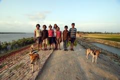Niños rurales indios fotos de archivo libres de regalías