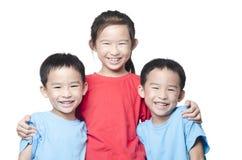 Niños sonrientes Fotografía de archivo libre de regalías