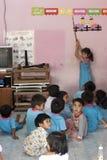 Niños tailandeses en jardín de la infancia Imagenes de archivo