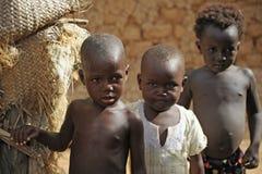 Niños tribales Fotografía de archivo