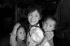 Niños vietnamitas Fotos de archivo libres de regalías