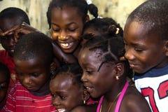 Niños y diversión video Fotos de archivo