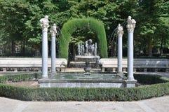 Niño de la Espina fountain, Aranjuez Stock Image
