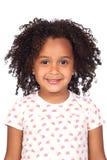 Niña africana adorable con el hairst hermoso Fotos de archivo libres de regalías