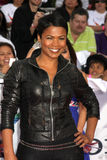 Nia Long. Arriving at the 'This is It' Premiere Nokia Theater at LA Live Los Angeles,   CA October 27, 2009 Royalty Free Stock Images