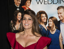 Nia Vardalos. Actress/writer/producer Nia Vardalos arrives for the New York premiere of Universal Pictures and Gold Circle Entertainment's romantic comedy film Stock Photography