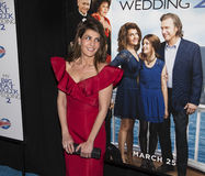 Nia Vardalos. Actress/writer/producer Nia Vardalos arrives for the New York premiere of Universal Pictures and Gold Circle Entertainment's romantic comedy film Royalty Free Stock Image