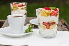 Śniadanie - coffe Obraz Stock