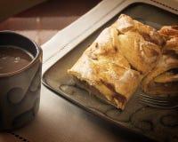 Śniadanie data Fotografia Stock