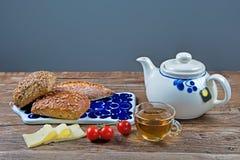 Śniadanie dla jeden Zdjęcie Royalty Free