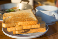 śniadanie kontynentalnej Zdjęcie Stock