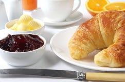 śniadanie kontynentalnej Obrazy Stock