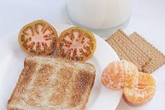 Śniadanie przygotowywa Fotografia Stock
