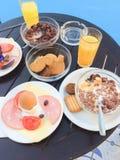 Śniadanie w hotelu Zdjęcie Stock