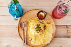 Śniadanie w ranku zdjęcie stock