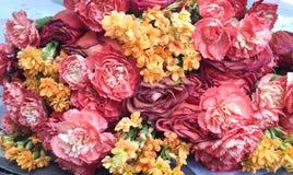 Śniadanio-lunch kwiaty Fotografia Royalty Free