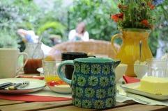 śniadanio-lunch ogród Fotografia Stock