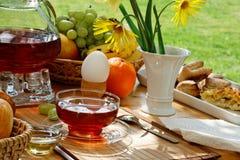 śniadaniowa herbata Zdjęcia Stock