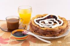 Śniadaniowi gofry Zdjęcie Stock