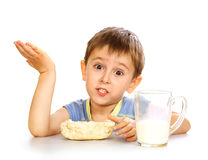 śniadaniowy dzieciak s Obrazy Stock