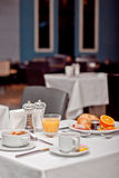 śniadaniowy hotel Fotografia Royalty Free