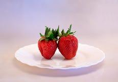 śniadaniowy marzycielski strawberrie Zdjęcie Stock