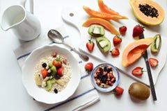 Śniadaniowy oatmeal Fotografia Stock