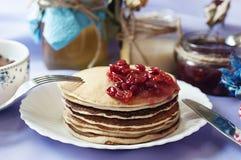 Śniadaniowy obiadowy karmowy cukierki Obrazy Royalty Free