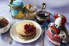 Śniadaniowy obiadowy karmowy cukierki Obraz Stock
