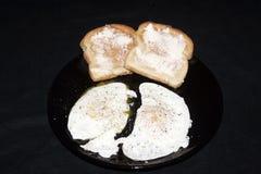 śniadaniowy overeasy Zdjęcie Royalty Free