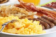 śniadaniowy serdecznie Obraz Royalty Free