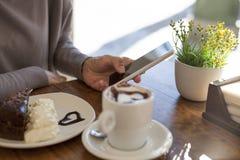 Śniadaniowy telefon Obraz Stock