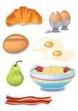 śniadaniowy wybór Ilustracji