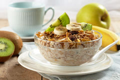 śniadaniowy zdrowy Fotografia Royalty Free