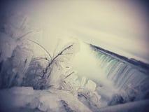 Is Niagara Royaltyfri Foto