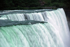 Niagara - Amerikaanse Dalingen Royalty-vrije Stock Afbeelding