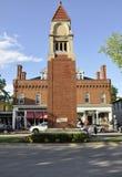Niagara-auf-d-See, am 25. Juni: Im Stadtzentrum gelegenes Ehrengrabmal-Monument vom Niagara-auf-d-See in Ontario-Provinz Stockfoto