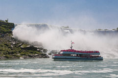 Niagara boat cruise Stock Photos
