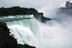 Niagara - cadute dell'americano Fotografie Stock Libere da Diritti