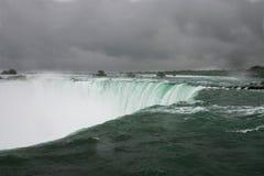 Niagara clouds Royalty Free Stock Photo