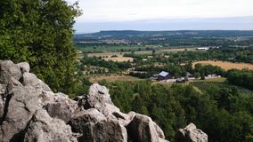 Niagara escarpment Zdjęcia Royalty Free