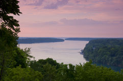Niagara Escarpment Overlook from Queenston Royalty Free Stock Photos