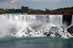 Niagara Fall and mist Royalty Free Stock Photography