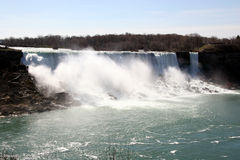 Niagara Falls. From the Canadian side stock photos