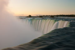 Niagara Falls. In Canada in sunrise Royalty Free Stock Images