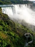 Niagara Falls. View from the American side Royalty Free Stock Image