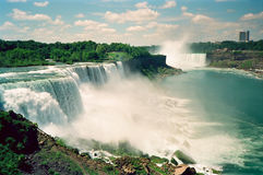 Niagara Falls. The famous Niagara Falls of the United States stock photo